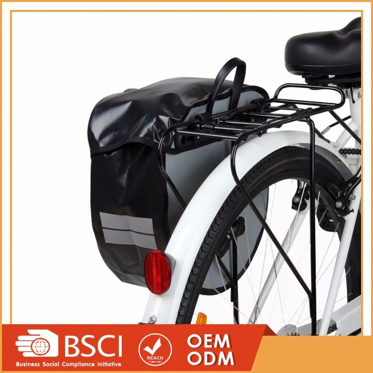 Large capacity outdoor travel rear tail waterproof bicycle seat bag,bike carrier bag,bike bag top tube