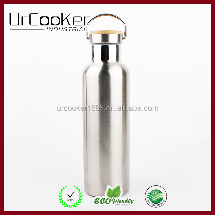 25oz Double wall 18/8 leak proof vacuum insulated stainless steel water bottle