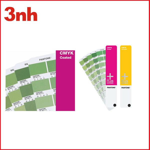Polyester color shade card