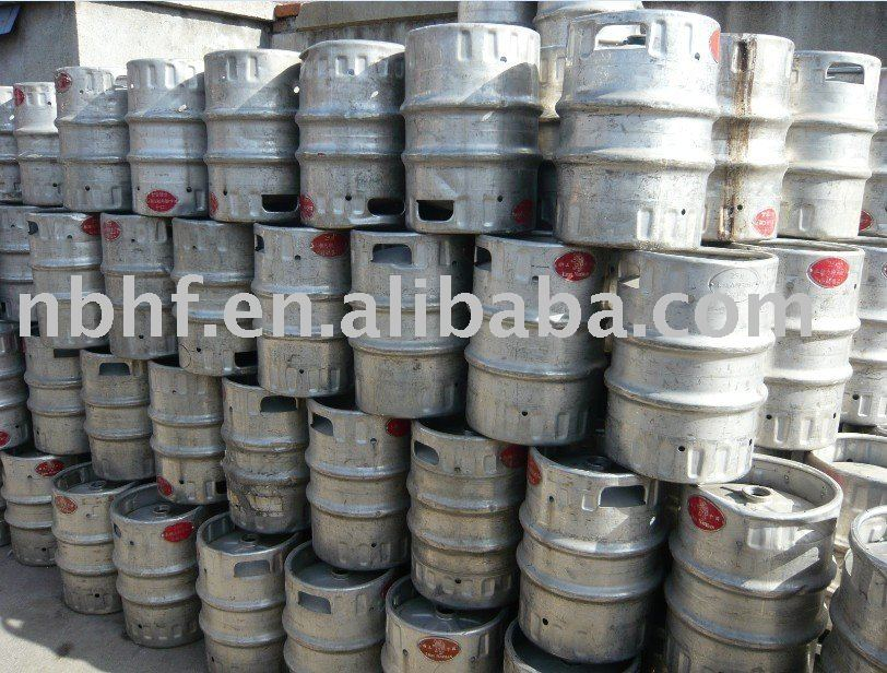 25L used beer kegs