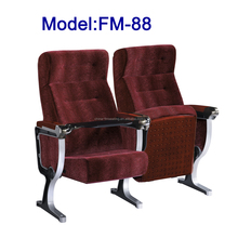FM-88 Auditorium chair with folding writing table