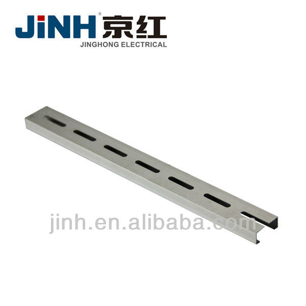 35/7.5 25/10 Aluminum extruded pre-punched DIN Rail