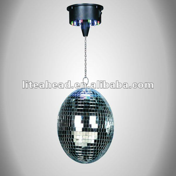 "Party 6-12"" LED Disco mirror Ball with Motor"
