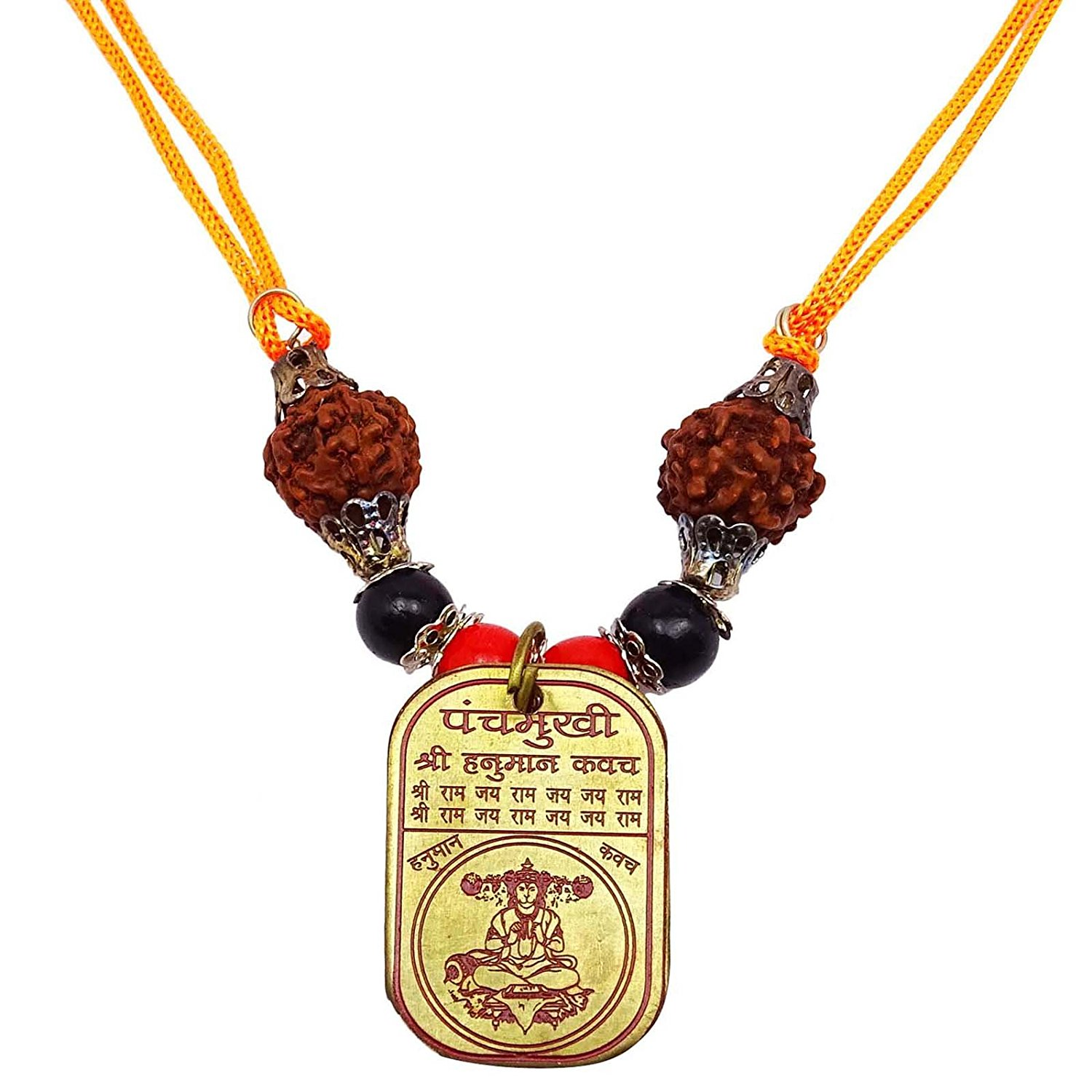 Buy hanuman panchmukhi kavach on sacred thread in cheap price on religious indian siddh shri panchmukh hanuman kavach yantram rudraksh locket vastu mozeypictures Image collections
