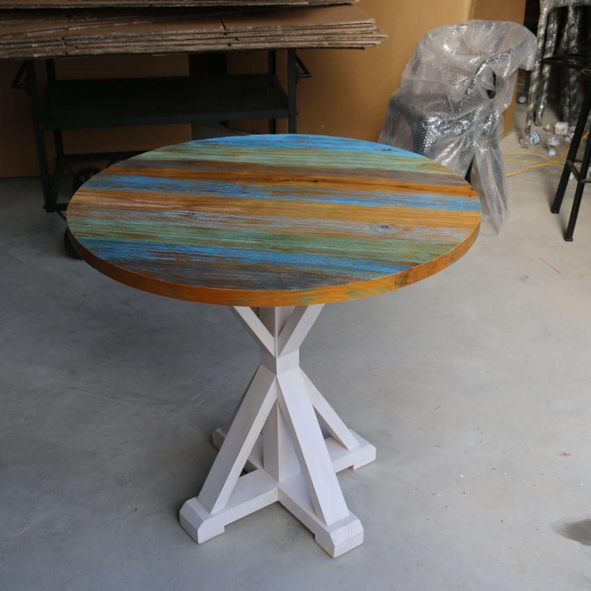 American Retro To Do The Old Wood Furniture, Colorful