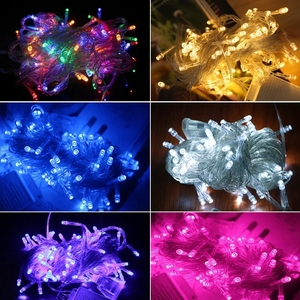 Wedding Fairy Christmas Lights Outdoor Twinkle tree Decoration 10M 100 LED String Christmas Lights
