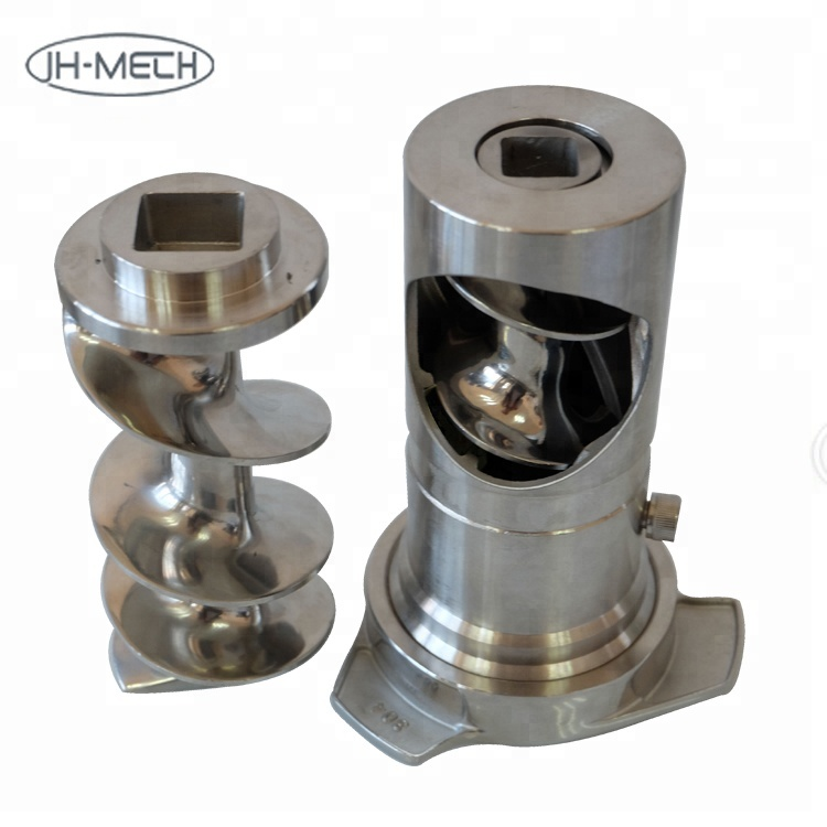 304SS high quality durable frozen meat grinder parts