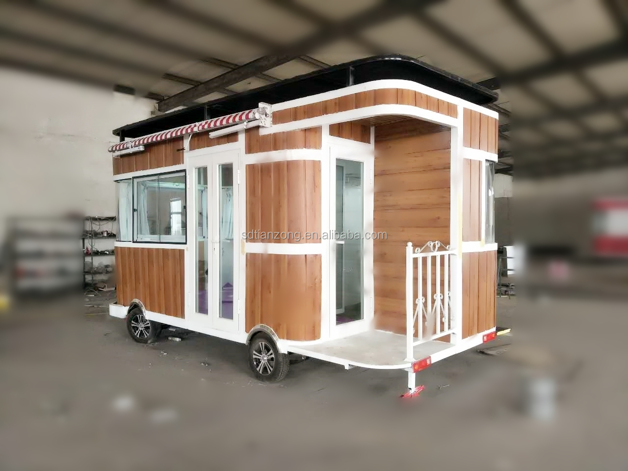 Factory Price Of Four Wheel Custom Electric Outdoor Food Truck /travel  Trailer Caravan For Sale - Buy Travel Trailer,Outdoor House,Food Truck  Product