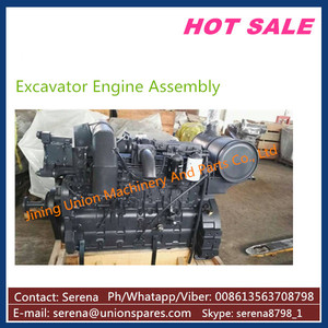 6D102 Engine Assembly, SAA6D102-2 Engine Assy, China Made Engine for 6D102
