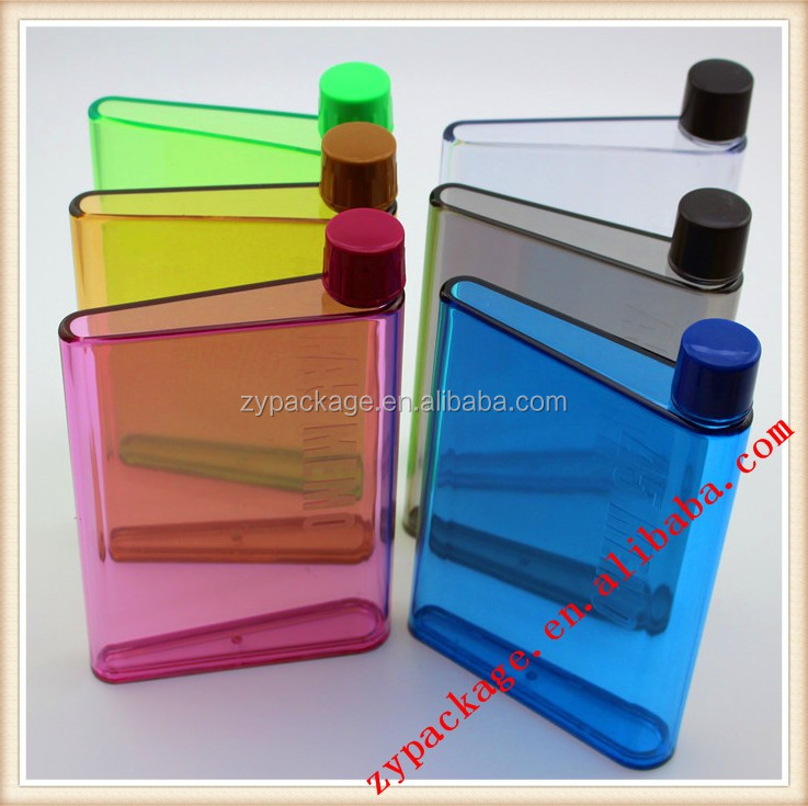 Customer Logo Flat Water Bottle Memo A5 Water Bottle