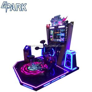 Hottest Jazz arcade jazz drum musical instrument, with redemption game,from China coin operated game machine supplier