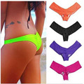 Wholesale 4pcs Lot Women s Sexy 2016 Brazilian Beach V Tanga Bikini Swimwear Bathing Suit Bikinis