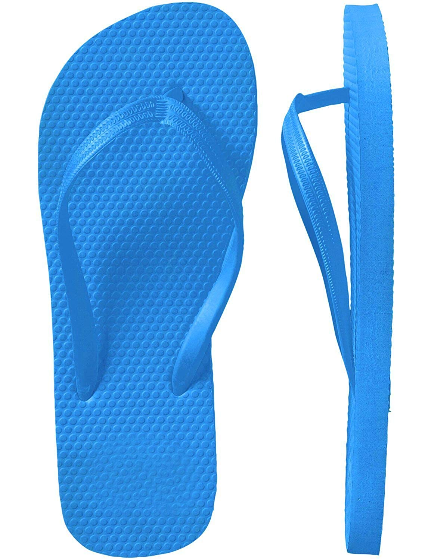 b99129b11eb44 Get Quotations · SLR Brands Women s Flip Flops Rubber Thong Flip Flop  Shower Sandal for Women