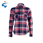 Hot selling comfortable eco-friendly classy ladies long sleeve womens shirts blouses tops