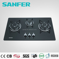 2019 New Style 3 Burner Gas Stove Glass Top