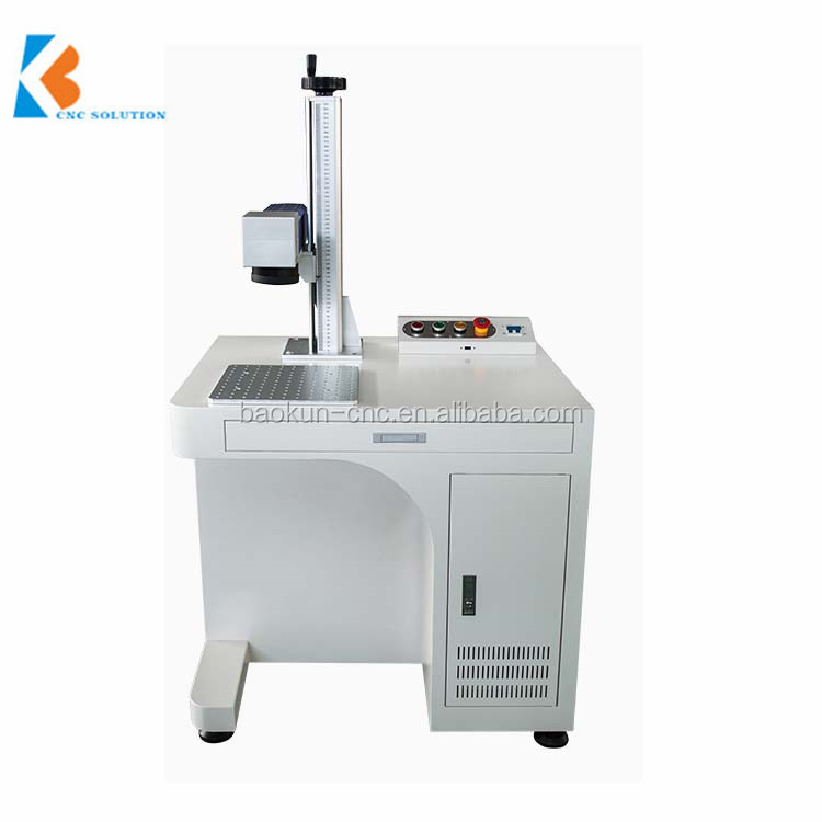 China manufacture fiber marking machine with cheap price