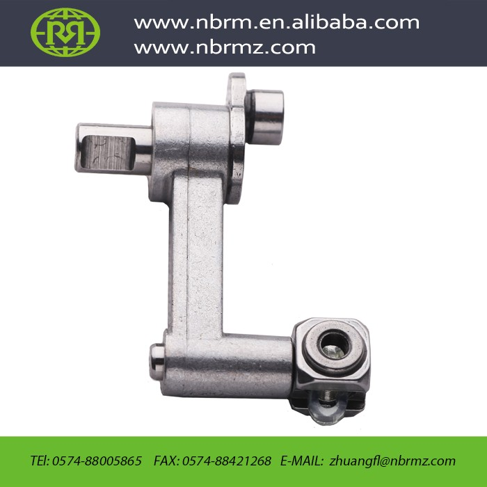 NBRM ISO14001 approved custom high precision needle bar crank rod assy for embroidery machine parts