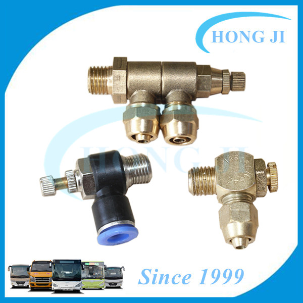 bus door spare parts door pump joint for Higer Golden Dragon Volvo Ankai