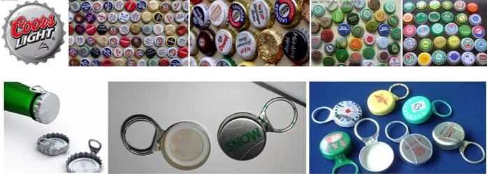 Hot sale beer bottle/water bottle Crown cap sealing machine for factory price