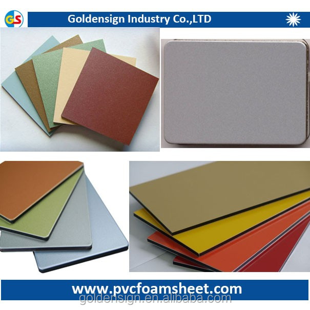 Sliver Color 3mm Thick Drawing Aluminium Composite Panel Sheet For Decoration