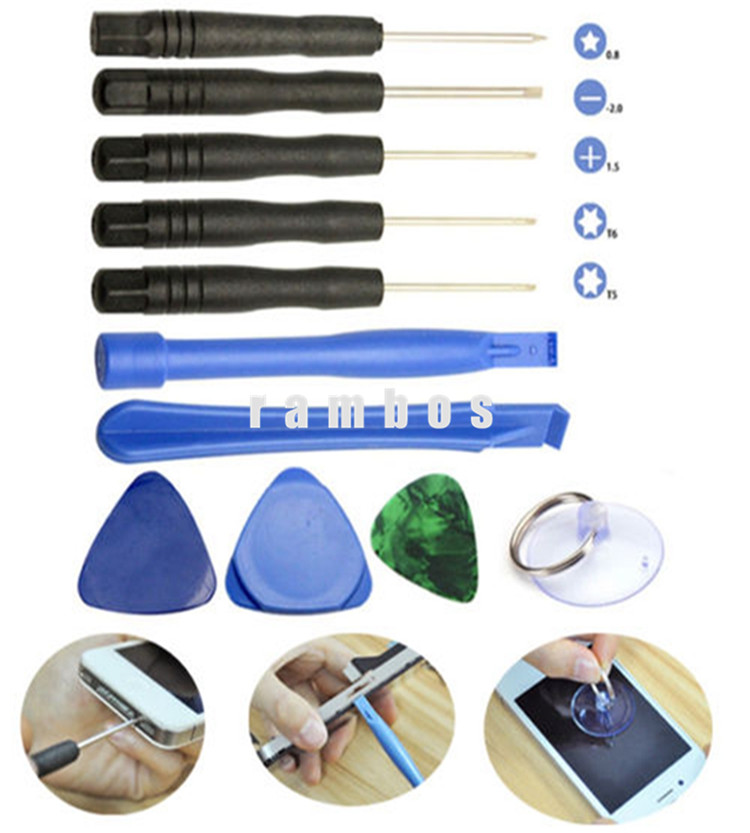 Mobile Phone Repair Tool Kit 11 in 1 Screwdriver <strong>Set</strong> for Glasses Mobile Phone for iPhone 6S Plus
