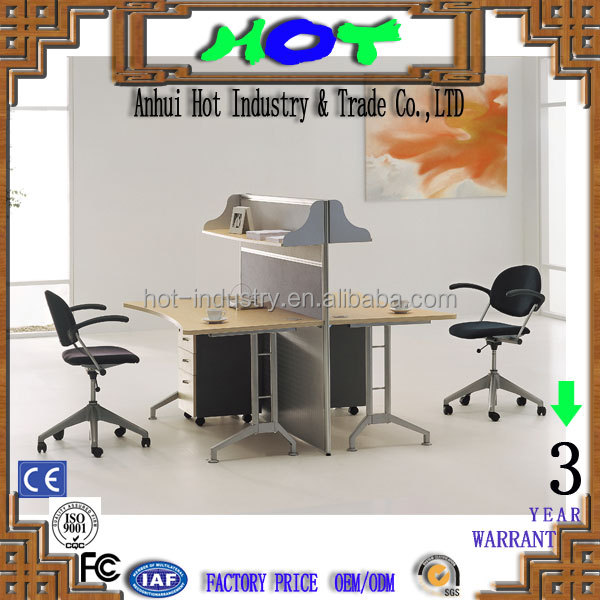 modern office furniture face to face and partition comfortable office furniture factory direct