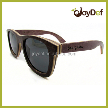 Woodsun china custom made sunglasses factory bamboo and wood sun glasses