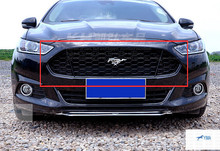 Black! Honeycomb Mustang Style Front Grille Grill 1pcs For ford Fusion 2013 2014 2015