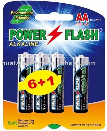 ALKALINE BATTERY LR6/AM-3/AA SIZE
