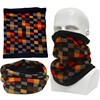 Winter Sports Polar Fleece Neck Warmer Outdoor Circle Scarf Fancy Neckwear