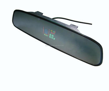 Car parking sensor/Wireless Rearview Mirror VFD Display Parking sensor With 4 Sensors-WRD-VFD027C4