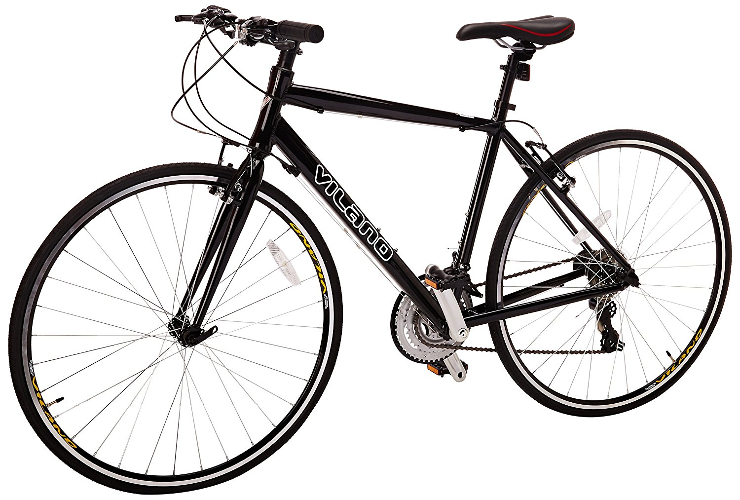 Buy Vilano Tuono Performance Hybrid Flat Bar Commuter Road Bike ...
