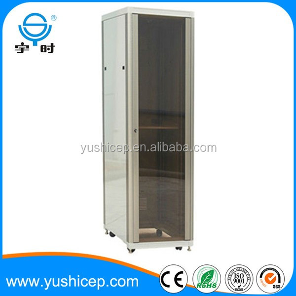 19 inch aluminium alloy network rack cabinet with whole package or flat package optional