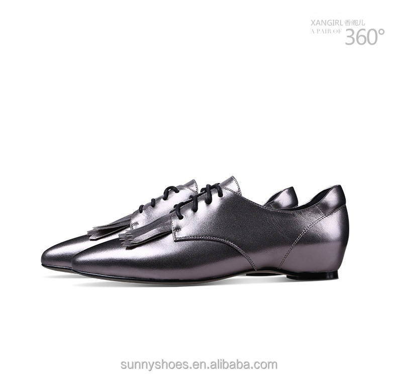 toe ladies leather Latest shoes pointed genuine beautiful design xqTqYawI