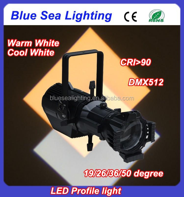 lcd display etc source four 180w led profile spot light