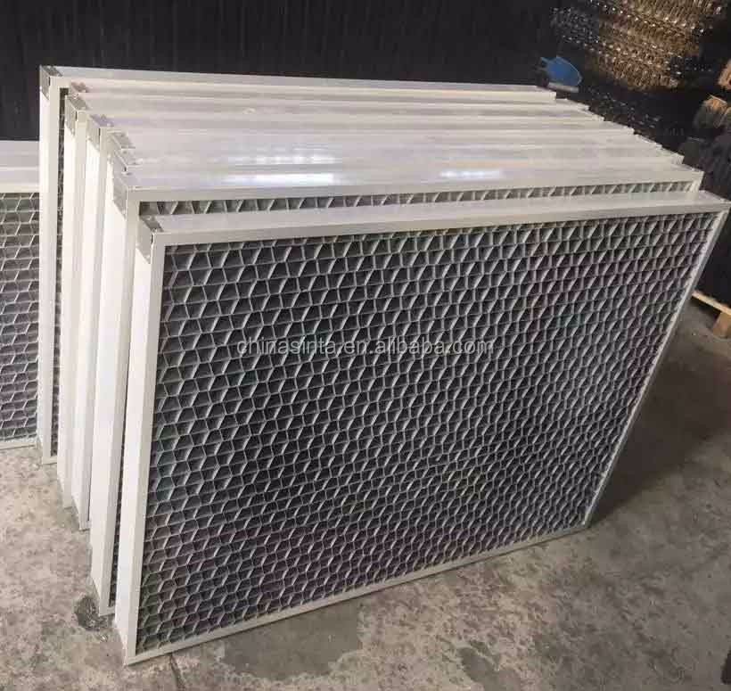 Round Amp Square Cooling Tower Air Inlet Louvers For