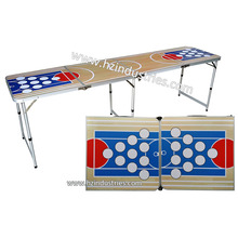 Direct factory folding beer pong table wholesale