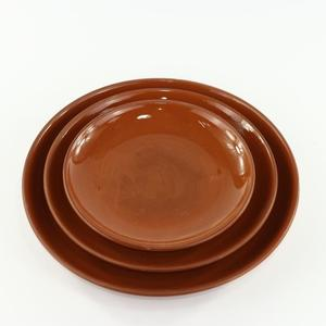 Customized Terracotta Ceramic Plate for sales