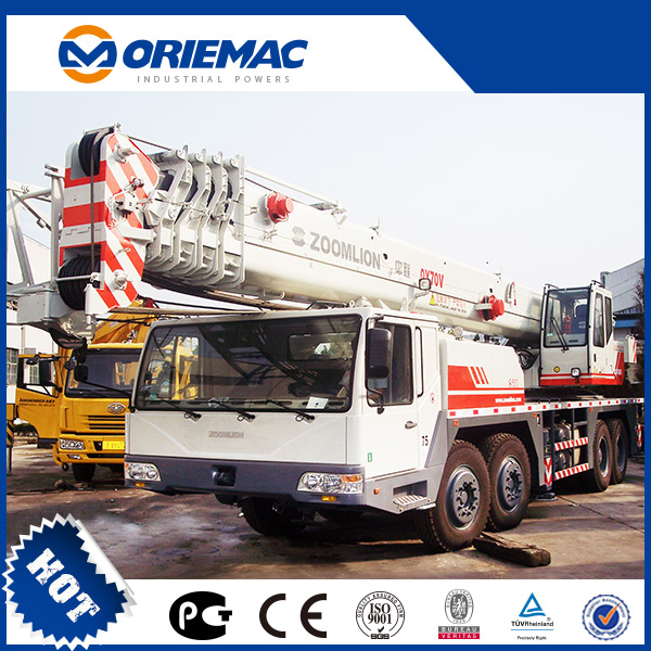 Low Price High Quality ZOOMLION QY60V532 60ton Truck Crane For Sale