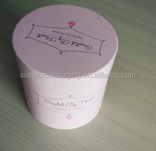 Romantic flower tin plate candy boxes round shaped wedding favors party gift boxes holders