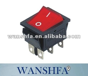 Kcd4 Red Electric Switch