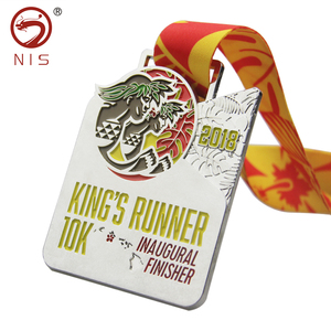 Sports antique 3d plating running medal for world skills competition