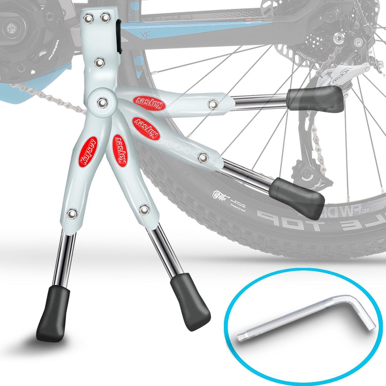 "Bike Rear Bracket Anti-slip Adjustable Kickstand Side Stand Leg for 20/""//24/""//26/"""