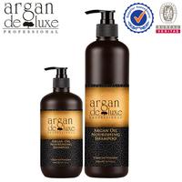 Argan de Luxe OEM/ODM natural argan oil formula shampoo use for hair growth,anti hair loss shampoo