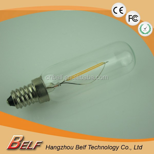 China lighting Belf LED Filament Bulb Tube Bulb T20 T25