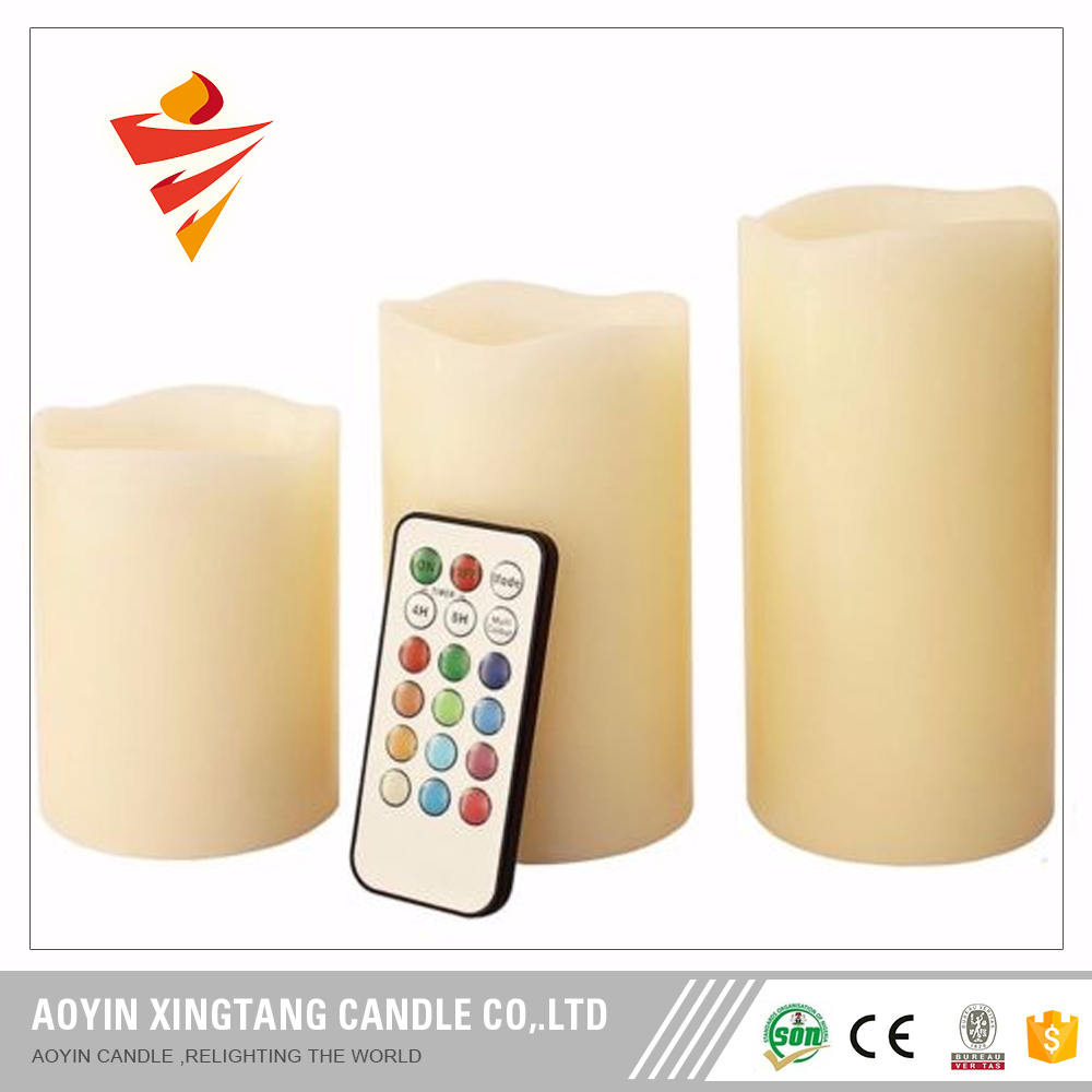 Flameless moving wick led candle wholesale