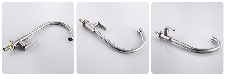 hot selling high quality upc 304 stainless steel home 61-9 nsf classic guangdong kitchen sink faucet