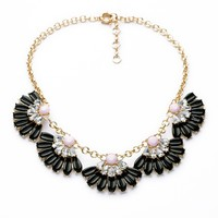 Indian Gold Plated Women Resin Choker Wholesale Necklace