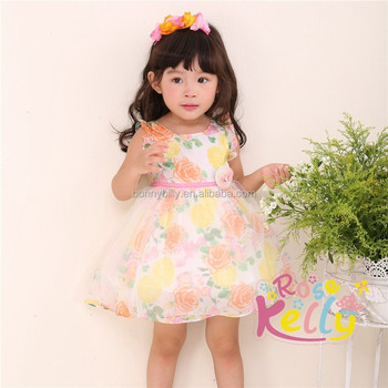 2015 Carters Baby Clothes Lovely Baby Children Chiffon Dress Baby