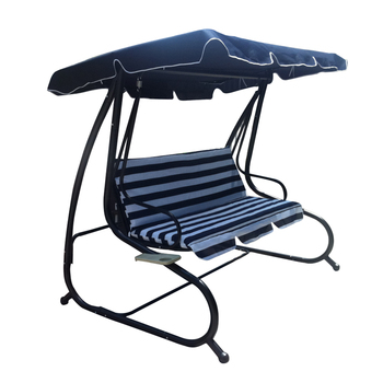 Steel Porch Swing Outdoor Lounge Chair